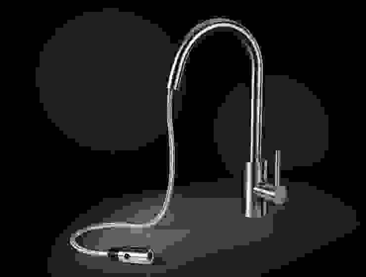 Ghenos Communication KitchenSinks & taps Iron/Steel Black