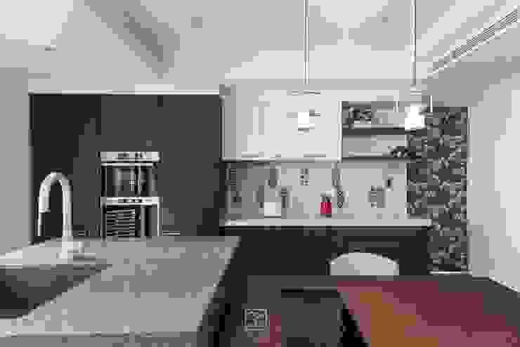 六角花磚 禾廊室內設計 Kitchen