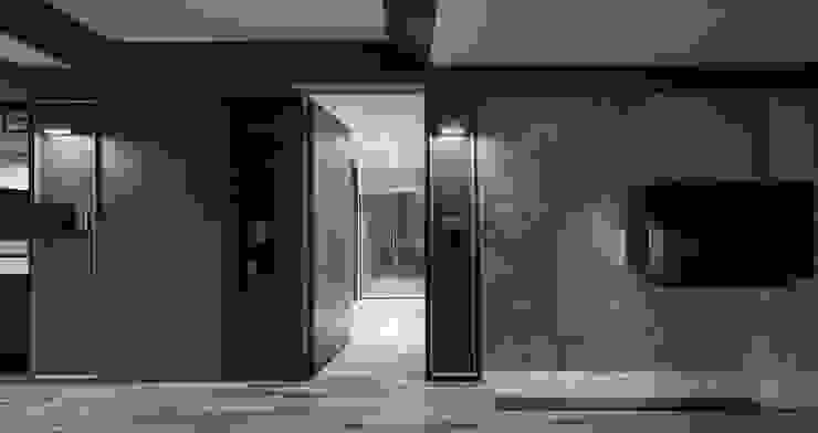 隱藏門設計 禾廊室內設計 Living room