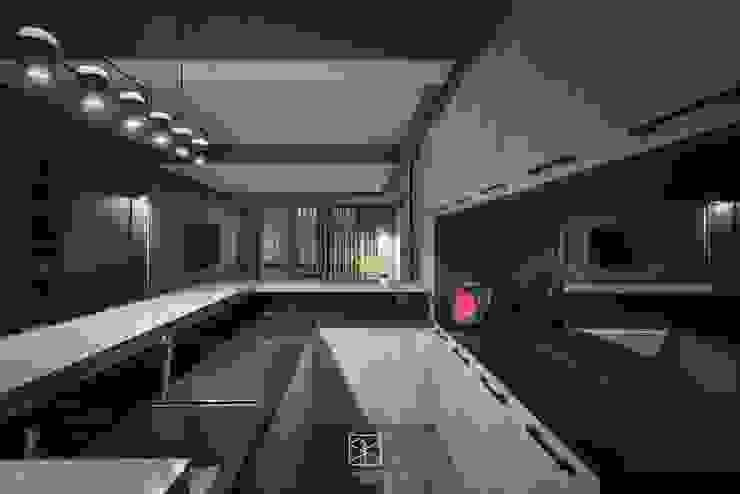 吧檯收納區 禾廊室內設計 Living room