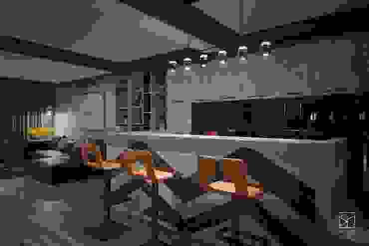 吧台區 禾廊室內設計 Living room