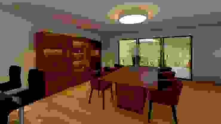 Elaine Hormann Architecture ห้องทานข้าว