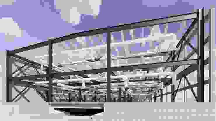 NAVE FARGO Estudios y despachos industriales de ConstruTech & Technology BIM Industrial Hierro/Acero