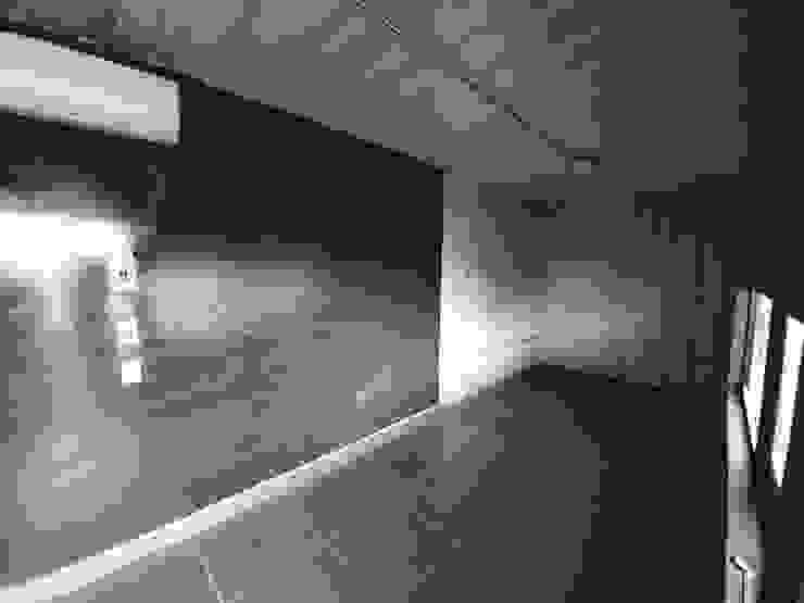 Interior contenedor 40 pies Estudios y despachos industriales de Arkontainers Industrial