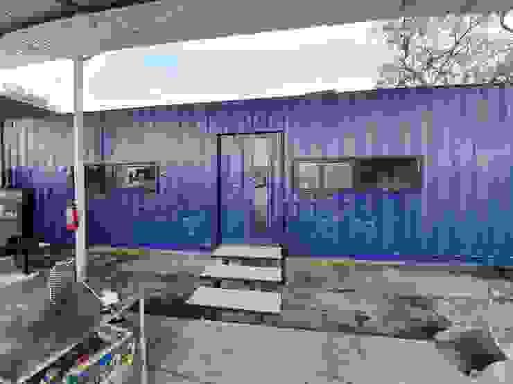 Exterior contenedor 40 pies Estudios y despachos industriales de Arkontainers Industrial