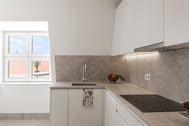 Hoost - Home Staging KitchenBench tops