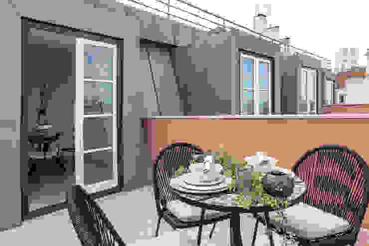 Hoost - Home Staging Balconies, verandas & terraces Accessories & decoration