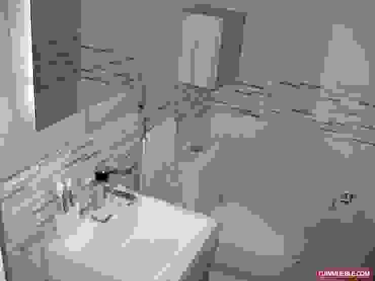 Baño Remodelado Inversiones Su Paraiso Baños de estilo minimalista Cerámico