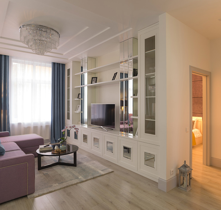 InScale Ruang Keluarga Klasik