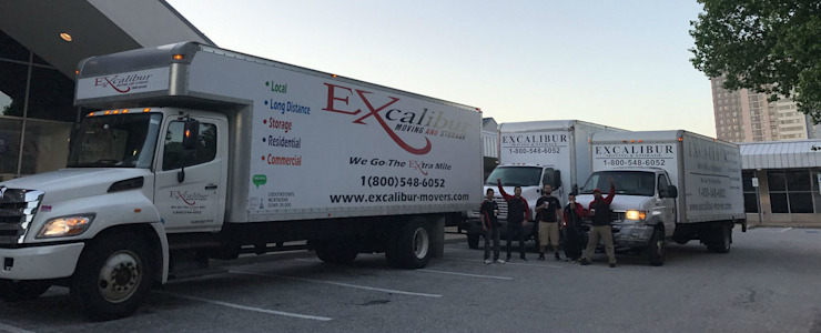 Excalibur Moving and Storage Comedores