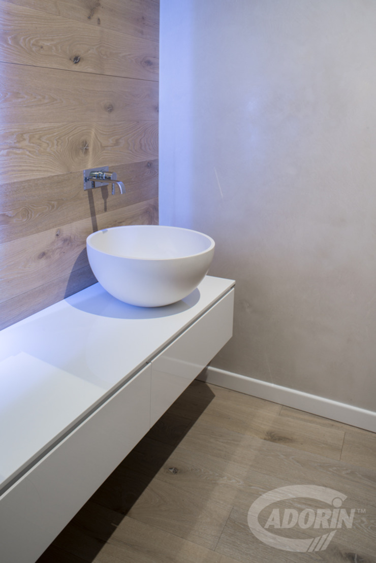 360° Design Cadorin Group Srl - Italian craftsmanship production Wood flooring and Coverings Modern Bathroom