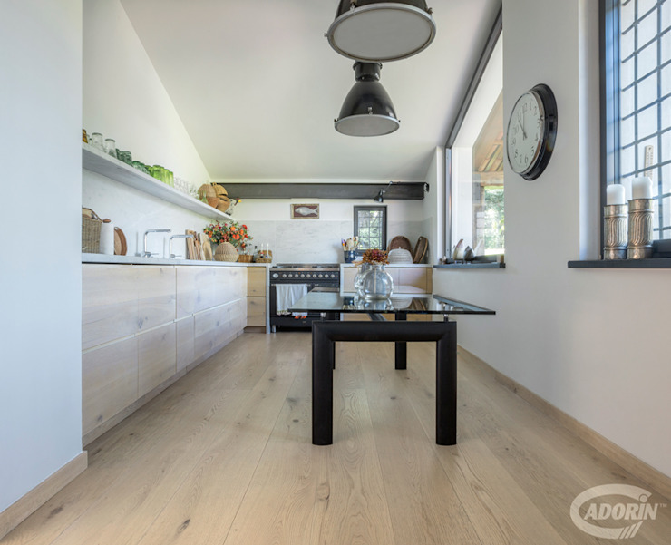 Quercus Cadorin Group Srl - Italian craftsmanship production Wood flooring and Coverings Modern Kitchen