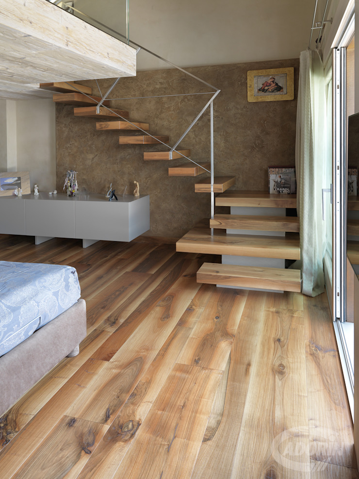 Old Noghera Cadorin Group Srl - Italian craftsmanship production Wood flooring and Coverings Stairs