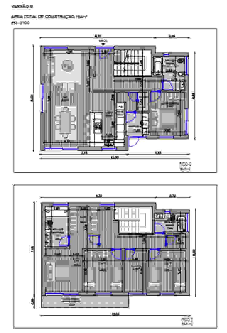 aspecto geral da disposição da casa IIP - Reabilitação e Construção