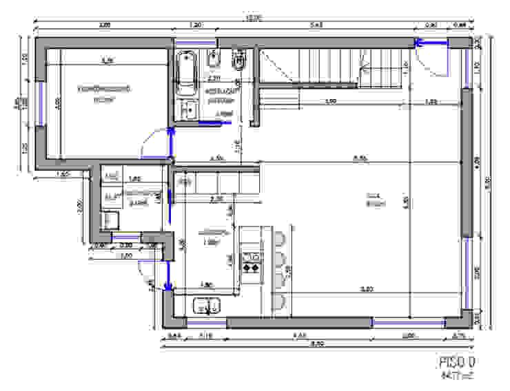 Em cada etapa do projecto, definem-se as áreas de cada espaços da casa, de modo a que sejam adequados a uma boa qualidade de vida IIP - Reabilitação e Construção