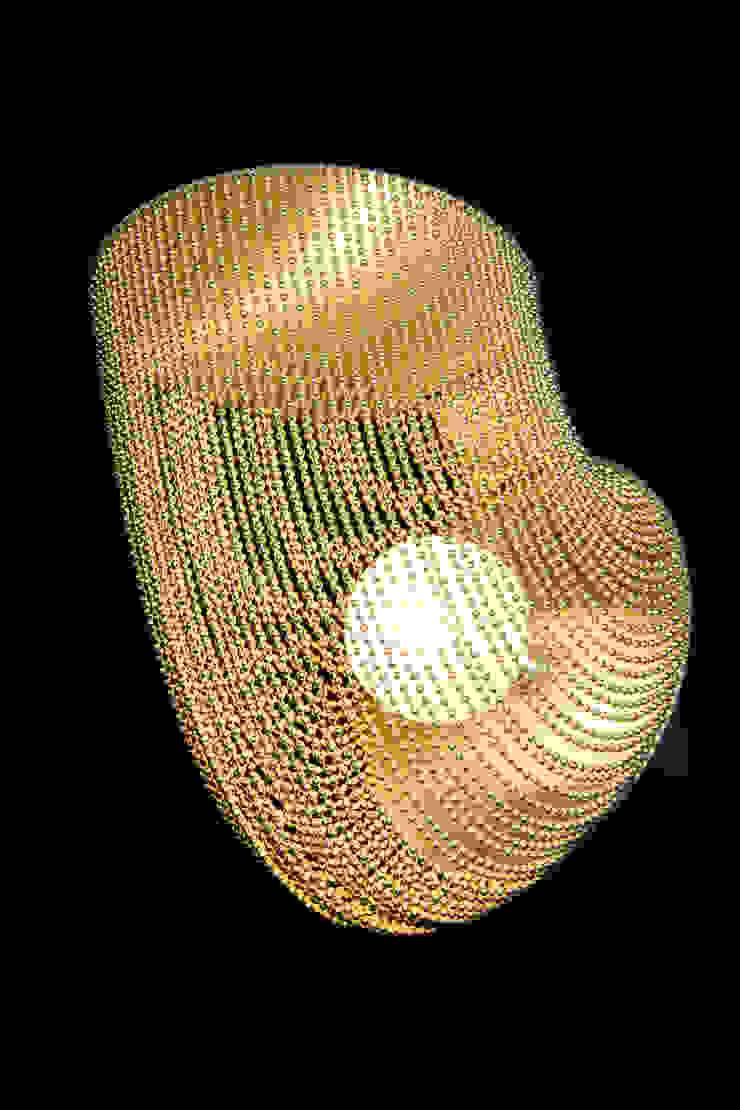 willowlamp Camera da lettoIlluminazione Alluminio / Zinco Ambra/Oro