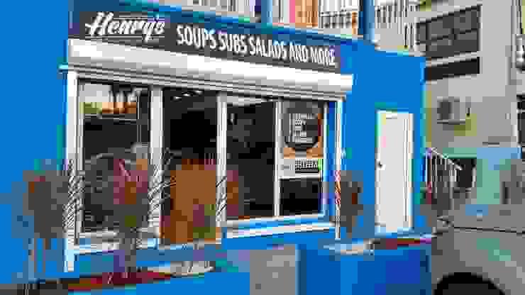 Restaurant Herny´s Soup, Saint Martin, Isla del Mar Caribe Gastronomía de estilo moderno de Zoraida Zapata / Diseño Interior Moderno