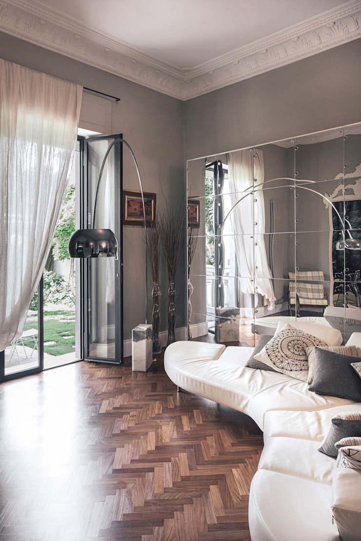 MODO Architettura Nowoczesny salon