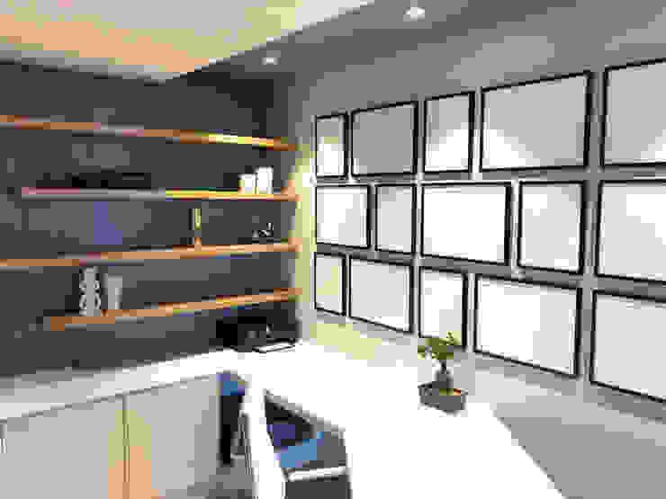 Just Interior Design Ruang Studi/Kantor Minimalis