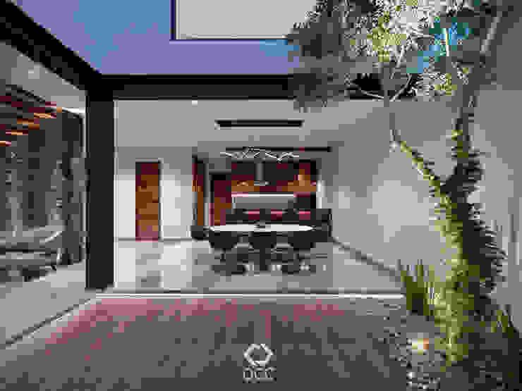 Casa PASEOS DEL SOL: Comedor - Cocina Comedores modernos de Constructora OCC Moderno