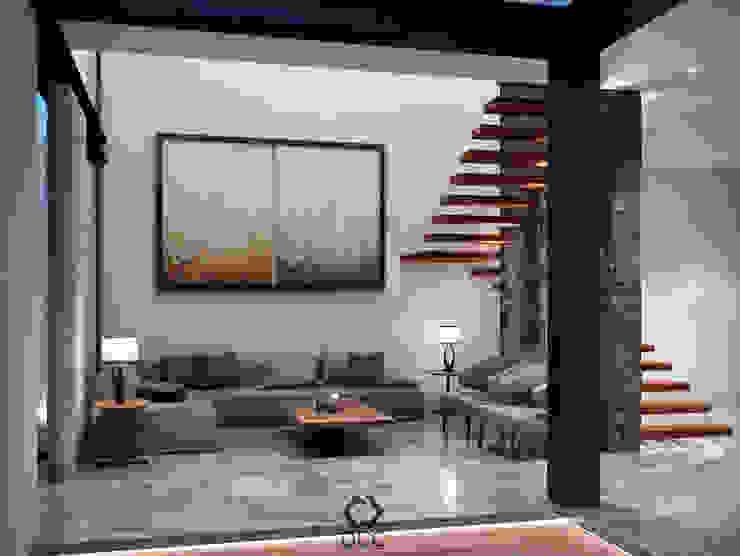 Casa PASEOS DEL SOL: Comedor - Cocina Salones modernos de Constructora OCC Moderno