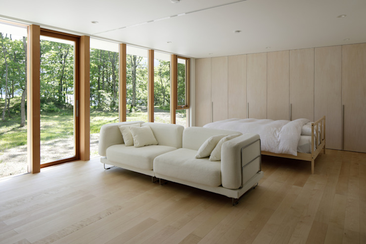 atelier137 ARCHITECTURAL DESIGN OFFICE Cuartos de estilo escandinavo Madera Acabado en madera