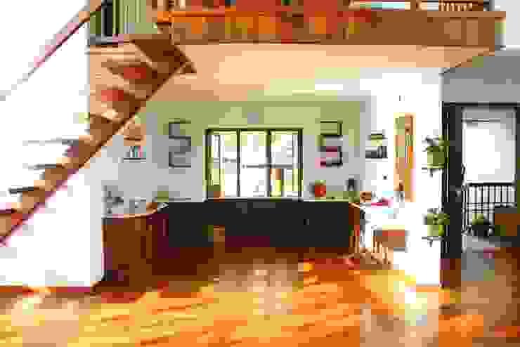 Timber and Glass Benny Kuriakose Asian style kitchen