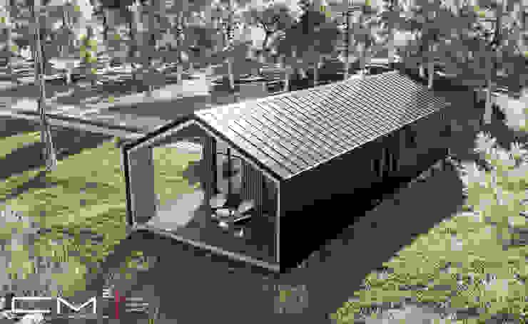 HAFİF ÇELİK LOFT SERİ / MEDIUM (2+1) CM² Mimarlık ve Tasarım Stüdyosu Prefabrik ev