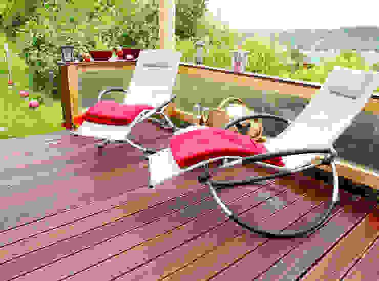 Massaranduba Terrassendielen Holz Terrassendielen Remise Moderner Balkon, Veranda & Terrasse