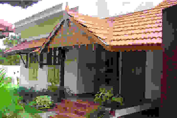 Entrance Porch Benny Kuriakose Asian style houses