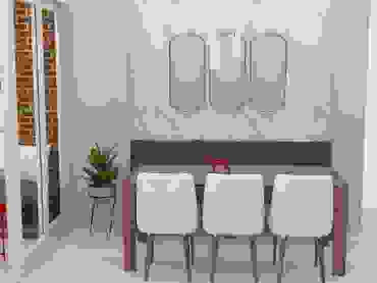 Apartamento Reservas del Río Decó ambientes a la medida Comedores de estilo moderno
