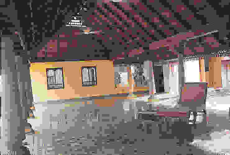 Athangudi Tiles Benny Kuriakose Asian style living room