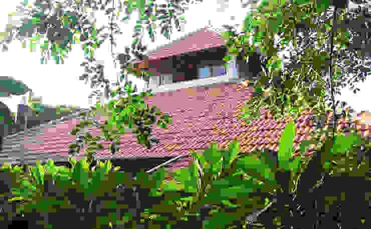 Exterior View Benny Kuriakose Asian style houses