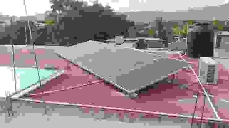 KIT FOTOVOLTAICO INTERCONECTADO A LA RED DOSIMEX, servicios de Ingeniería HogarGrandes electrodomésticos Metal Azul