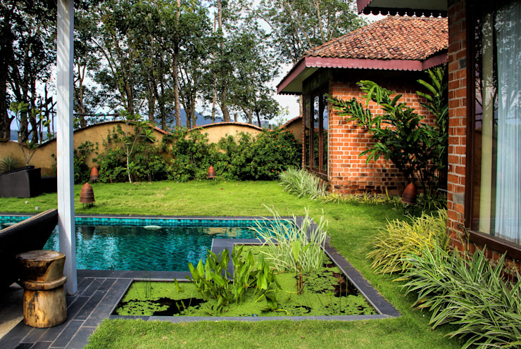 Cottages Benny Kuriakose Asian style hotels