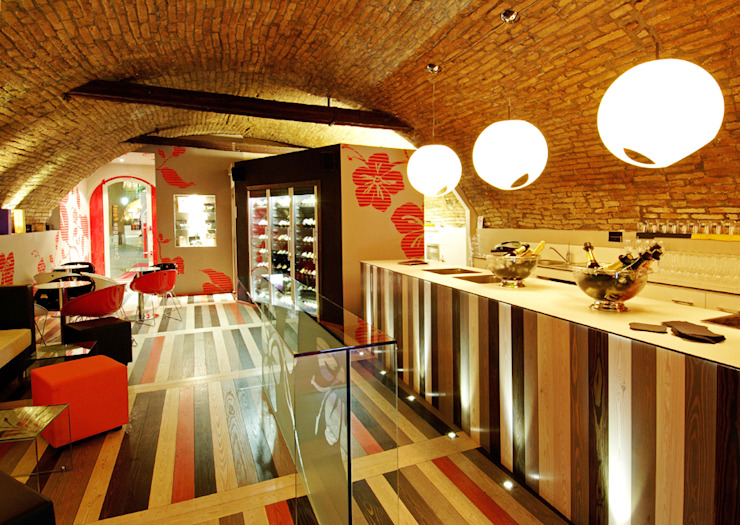 Banco bar Bar & Club moderni di viemme61 Moderno