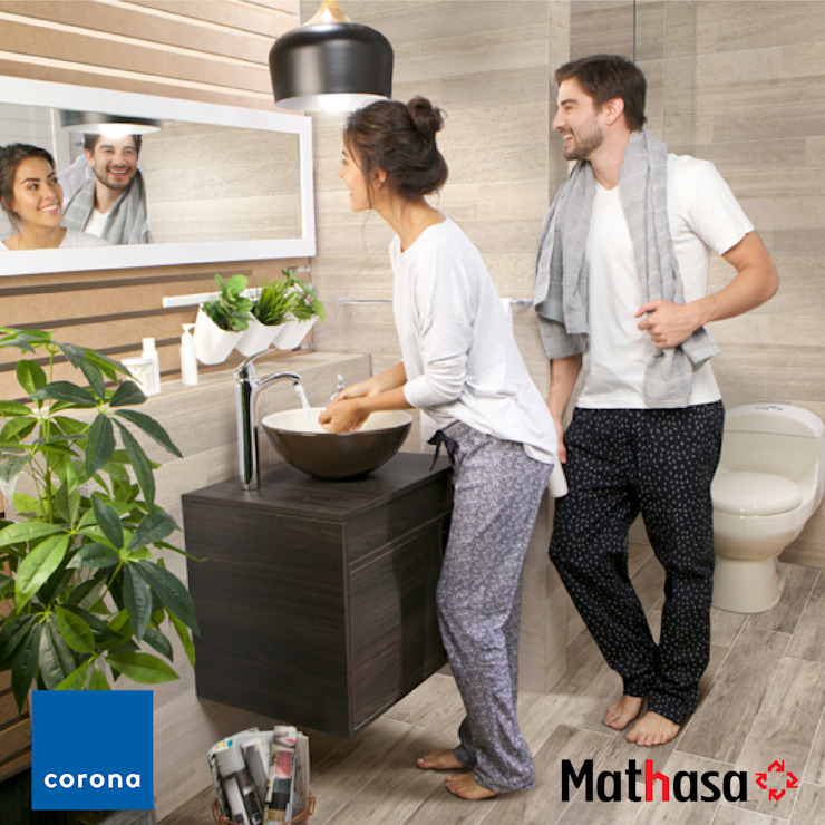 Mathasa BathroomSinks Pottery White