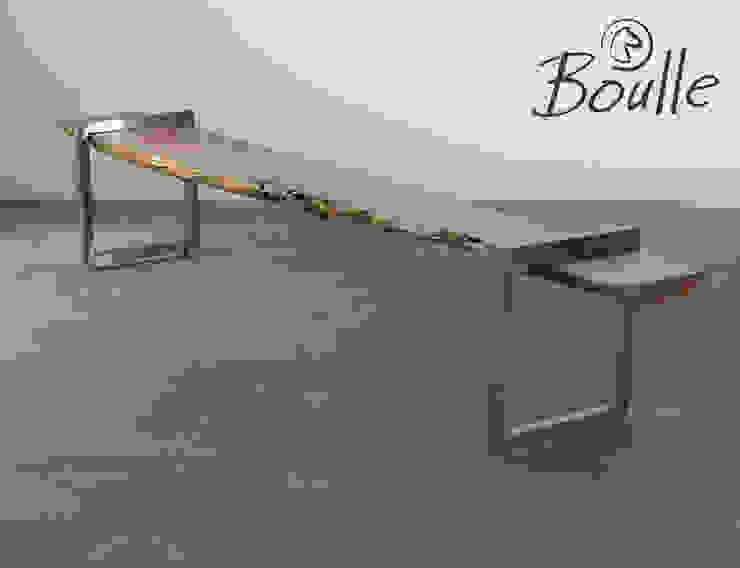 Banco em madeira por Boulle