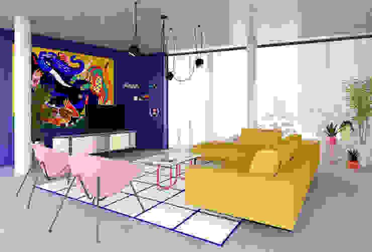 ESCALA ESTUDIO Modern Living Room