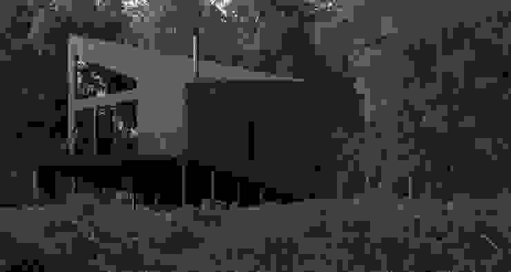 Grynevich Architects Scandinavian style hotels Wood