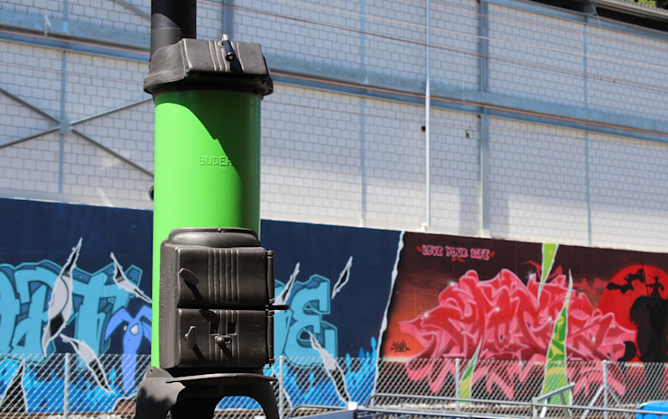Perler Ofen GmbH Палісадник Метал Зелений