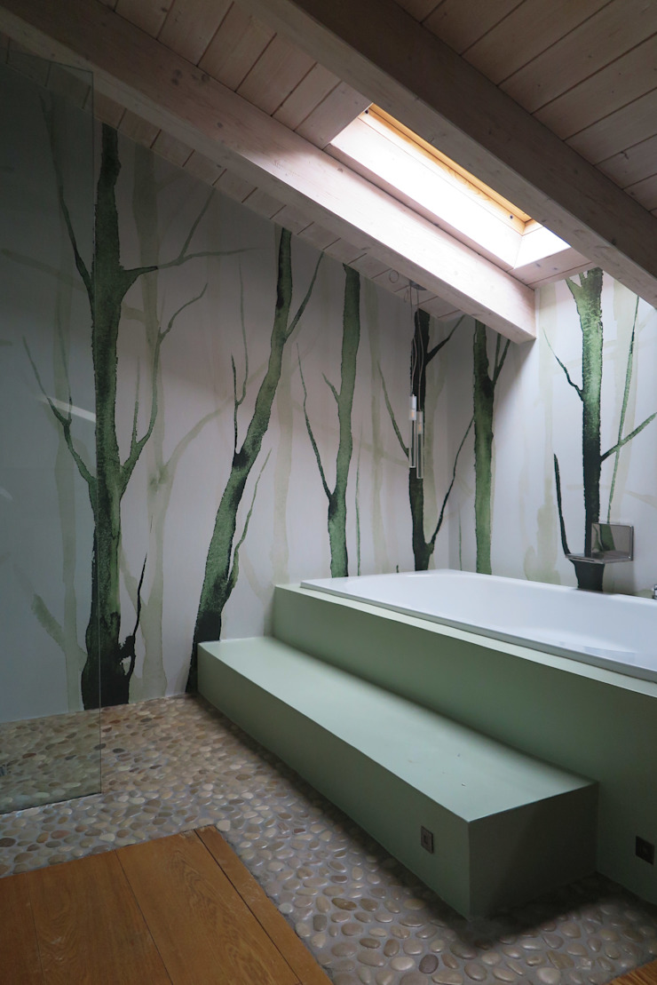 viemme61 BathroomDecoration Kertas Green
