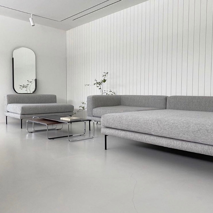 Sofá Jerome de BOLIA Caltha Design Agency SalasSalas y sillones Gris