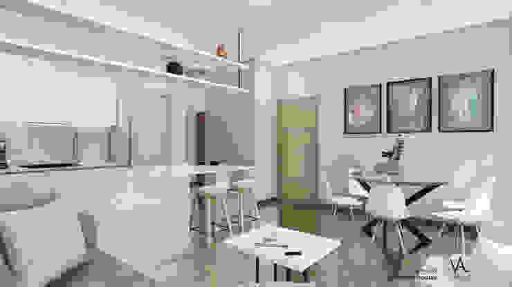 Vida Arquitectura Living roomSofas & armchairs Textile Beige