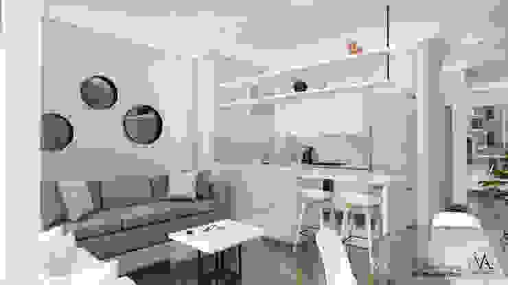 Vida Arquitectura Small kitchens Granite White