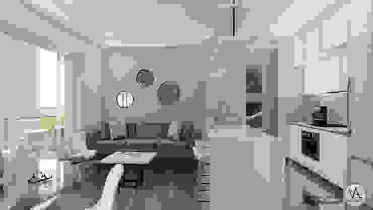 Vida Arquitectura Kitchen units Solid Wood White