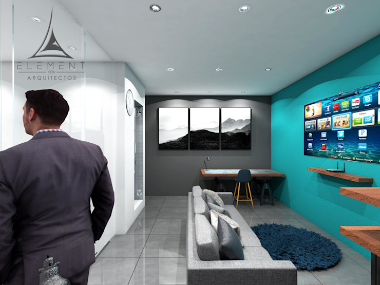 CLÍNICA 08 Estudios y despachos modernos de Element Arquitectos Moderno
