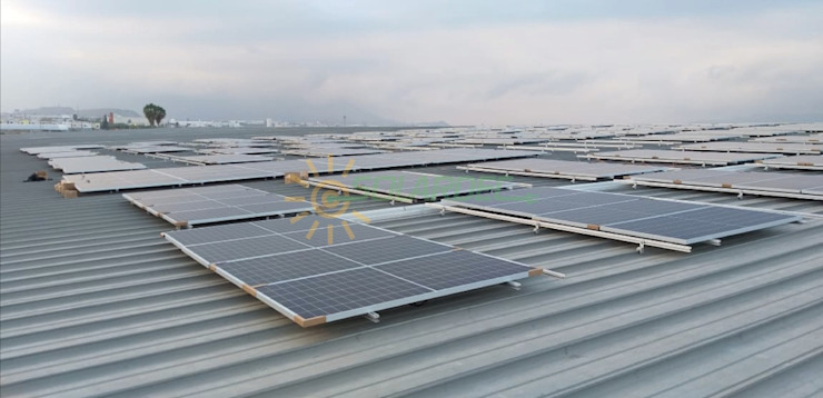 SOLARDEC Industrial style commercial spaces