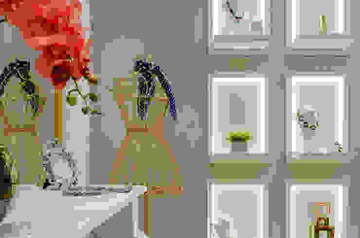 Studio C.A. Arquitetura Oficinas y tiendas de estilo clásico Madera