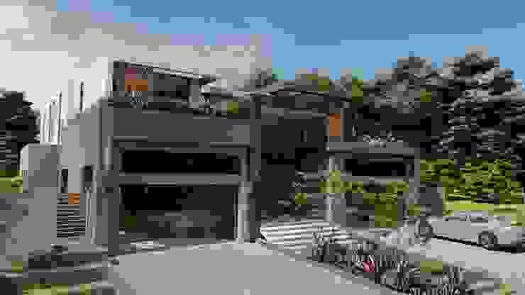 front FRANCOIS MARAIS ARCHITECTS Minimalist house